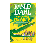 The Enormous Crocodile by Roald Dahl - small colour paperback book