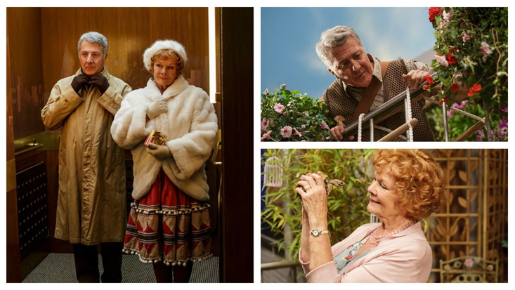 Dame Judi Dench and Dustin Hoffman to star in Roald Dahl's Esio Trot, BBC One, New Years Day 2015