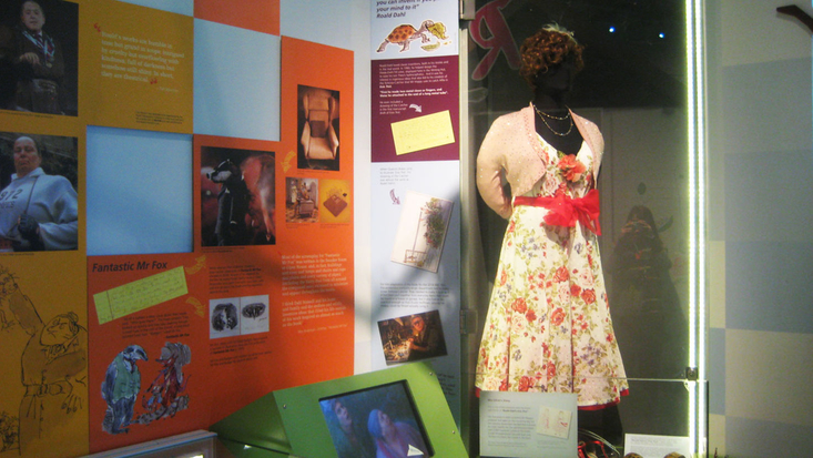Mrs Silver's dress from Esio Trot film
