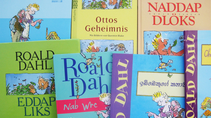 Foreign language editions of Esio Trot
