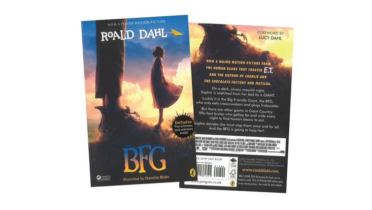BFG film cover book