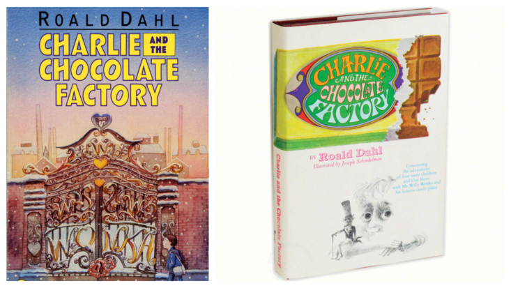 Roald Dahl's Charlie and the Chocolate Factory, illustrated by Michael Foreman and Joseph Schindelman