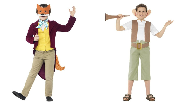Dress up as Fantastic Mr Fox or The BFG for World Book Day 2015