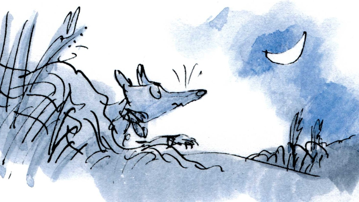 Roald Dahl's Fantastic Mr Fox, illustrated by Sir Quentin Blake