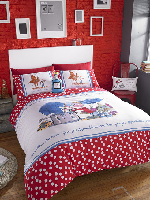 George's Marvellous Medicine Double Duvet Set