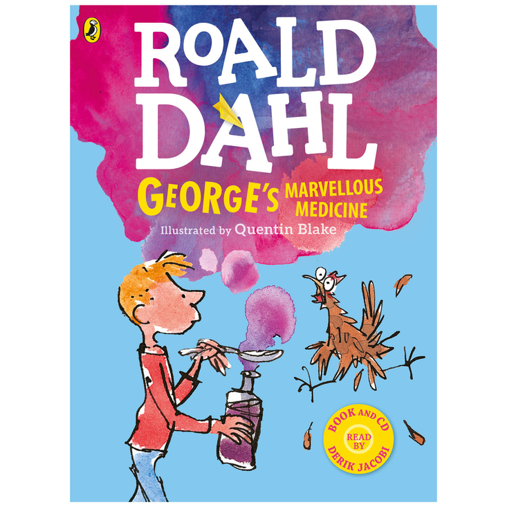 George's Marvellous Medicine CD and book set - Roald dahl