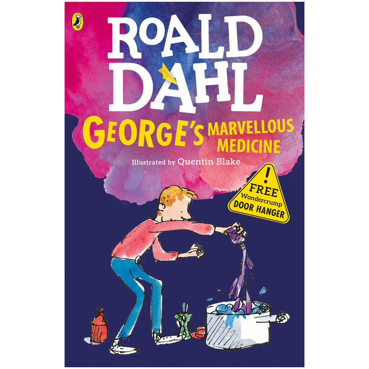 George's Marvellous Medicine by Roald Dahl - door hanger edition