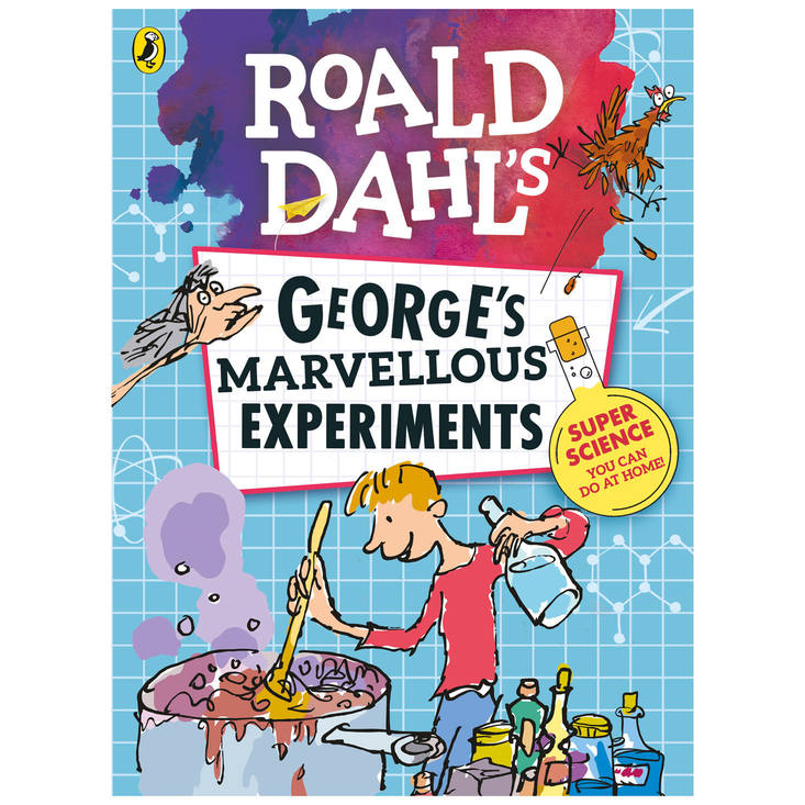 George's Marvellous Experiments - kids science book based on Roald Dahl stories