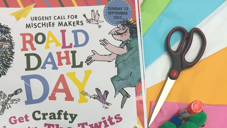 Get Crafty for Roald Dahl Day 2015