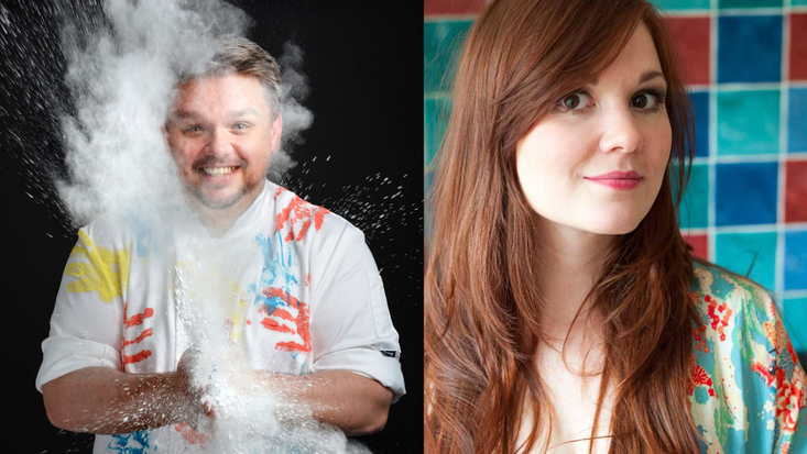 Glenn Cosby and Victoria Glass will be at the Roald Dahl Museum, October 2014