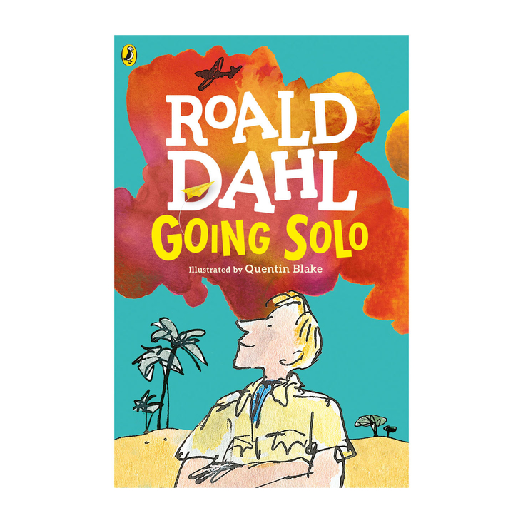 Going Solo by Roald Dahl - paperback book