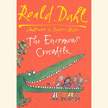 Hardback edition of Roald Dahl's The Enormous Crocodile, illustrated by Quentin Blake