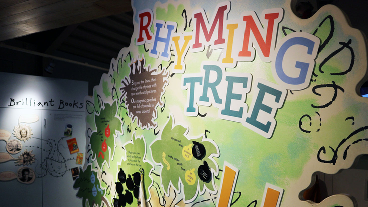 The Rhyming Tree at the Roald Dahl Museum