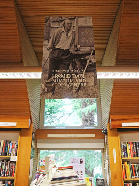 Roald Dahl quotations at Great Missenden Library