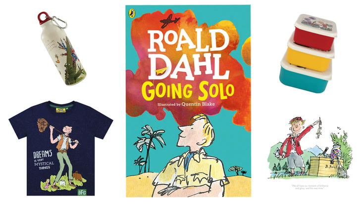 Roald Dahl books and products