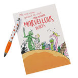 James and the Giant Peach pad and pen set