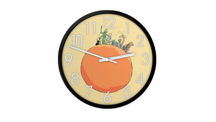 James and the Giant Peach Roald Dahl Museum wall clock