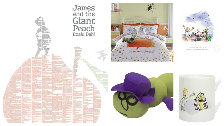Roald Dahl's James and the Giant Peach goodies for January 2015