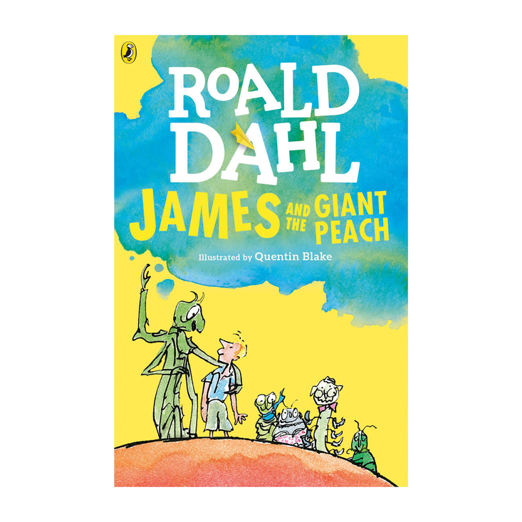 James and the Giant Peach by Roald Dahl paperback book