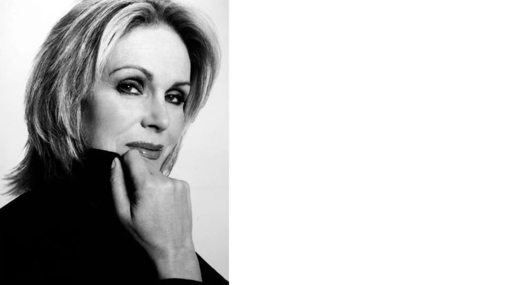Photo of Joanna Lumley - credit Ian Rankin