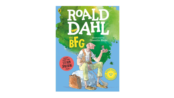 BFG large colour paperback and audio cd