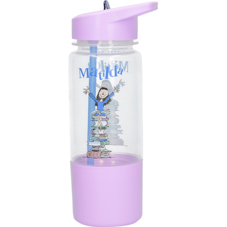 Roald Dahl's Matilda Hydration Bottle and Snack Pot
