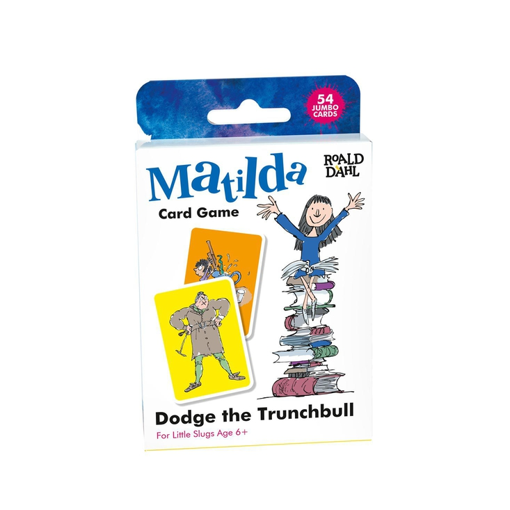 A card game based on Roald Dahl's Matilda, with illustrations by Quentin Blake