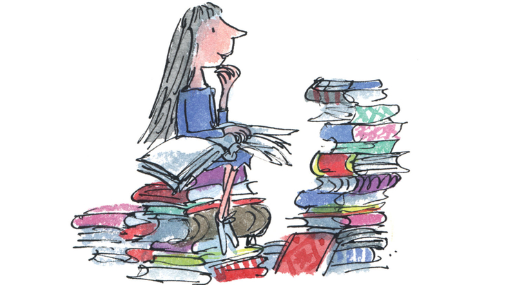 Roald Dahl's Matilda, illustrated by Quentin Blake