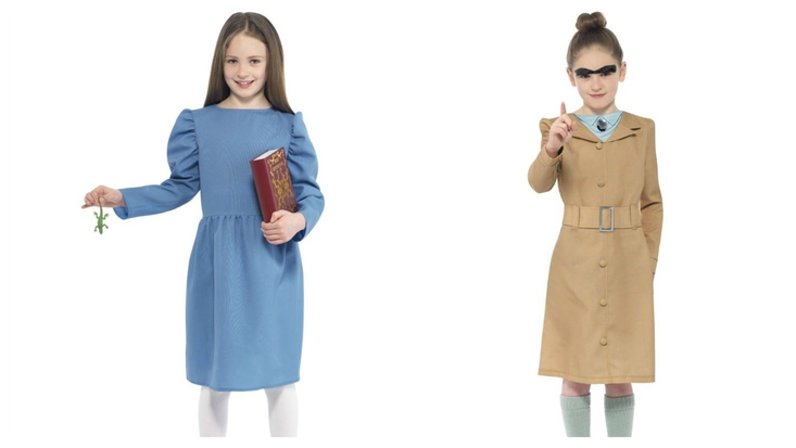 Dress up as Matilda or Miss Trunchbull for World Book Day 2015