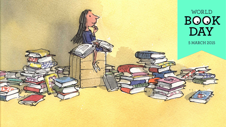 Celebrate World Book Day with Roald Dahl's Matilda, illustrated by Quentin Blake
