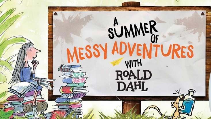 A summer of Messy Adventures with Roald Dahl and Persil