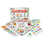 Roald Dahl Monopoly all pieces
