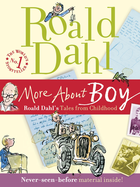 Roald Dahl - More About Boy, illustrated by Quentin Blake
