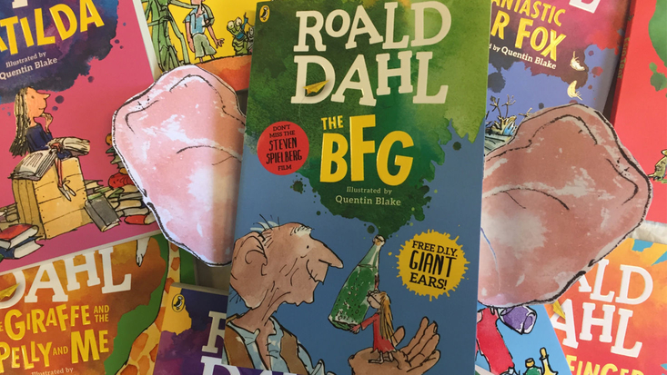 New Roald Dahl paperbacks