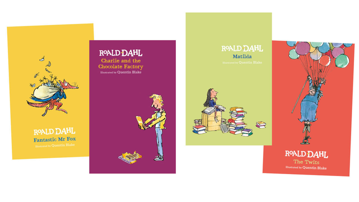 New Roald Dahl hardback books
