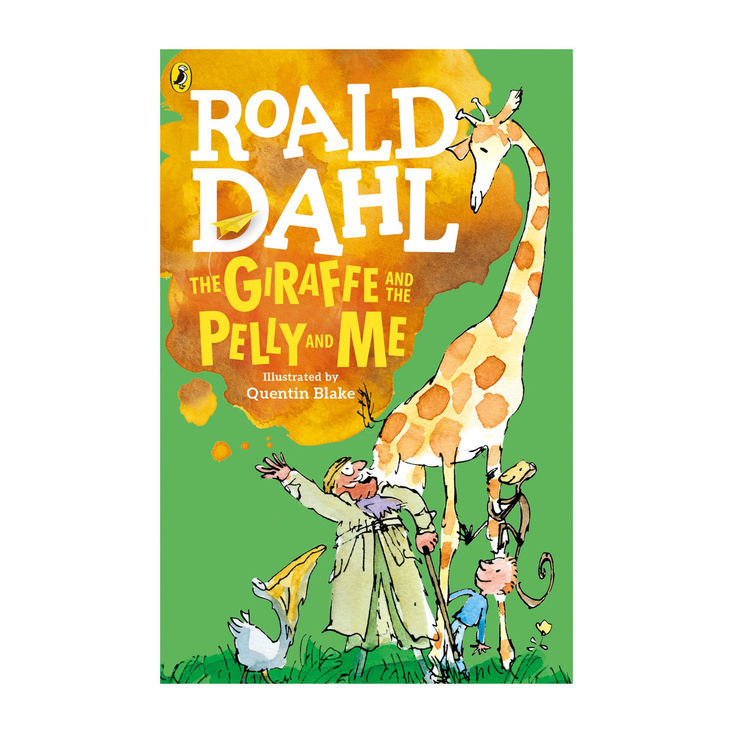 The Giraffe and the Pelly and Me - paperback book