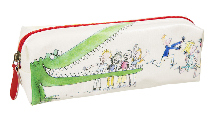 Roald Dahl's Enormous Crocodile pencil case, illustrated by Sir Quentin Blake