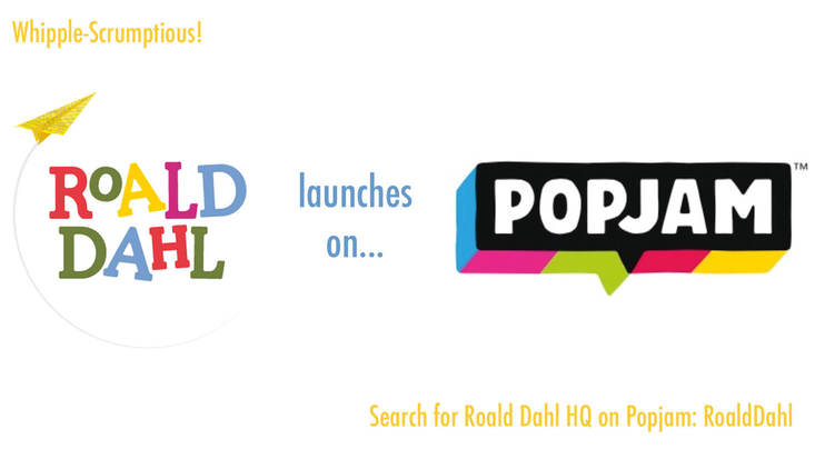 Roald Dahl HQ joins on Mind Candy's Popjam