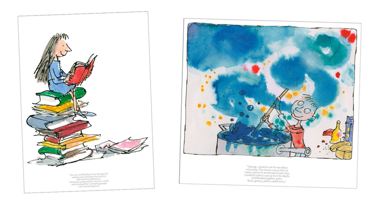 Limited edition Quentin Blake prints