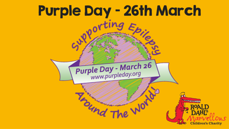 Purple Day - Roald Dahl's Marvellous Children's Charity