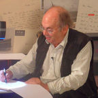 Quentin Blake at the Roald Dahl Museum for Puffin Virtually Live 2012