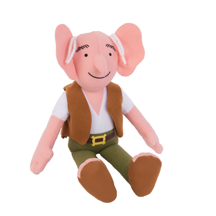 The BFG plush soft toy by Roald Dahl and Quentin Blake