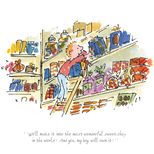 A beautiful limited-edition print from Roald Dahl's The Giraffe and the Pelly and Me, illustrated by Quentin Blake