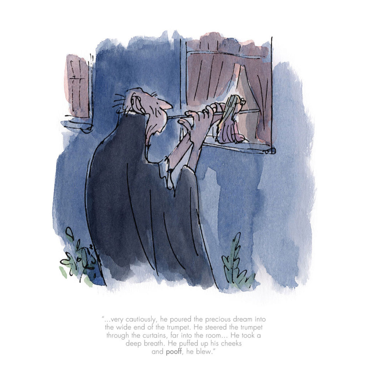 The BFG and Sophie Trumpet limited edition Print