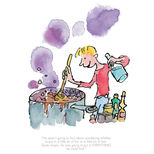 Limited edition George's Marvellous Medicine Quentin Blake print