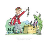 Boy and the Dead Mouse Print Roald Dahl limited edition print