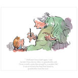 Roald Dahl's The Witches limited edition Quentin Blake print