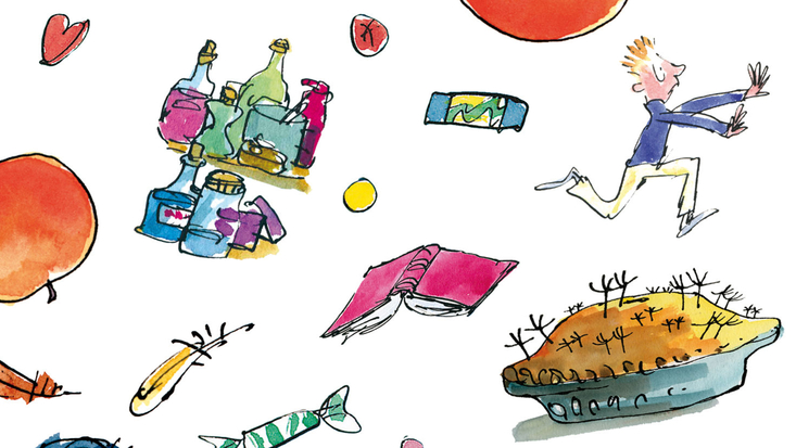 Illustration by Quentin Blake.