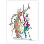 Charlie and the Chocolate Factory canvas print