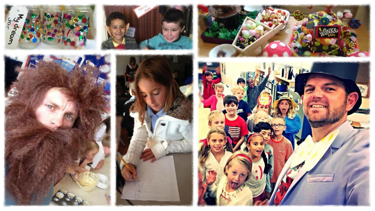 Schools around the world celebrated Roald Dahl Day 2014 with a Virtually Live stream and much more